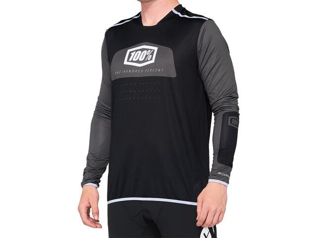 100% R-Core X DH Maillot Hombre, black/white